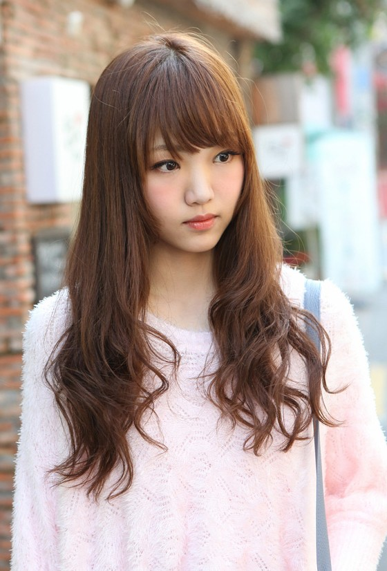 asian hairstyles with bangs photo - 4