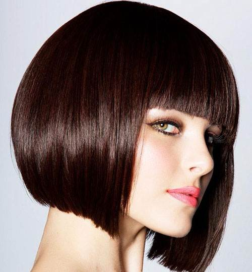best hairstyles with bangs photo - 10