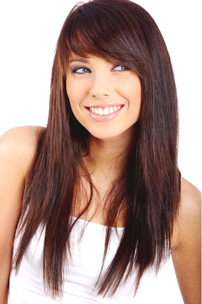 best hairstyles with bangs photo - 5
