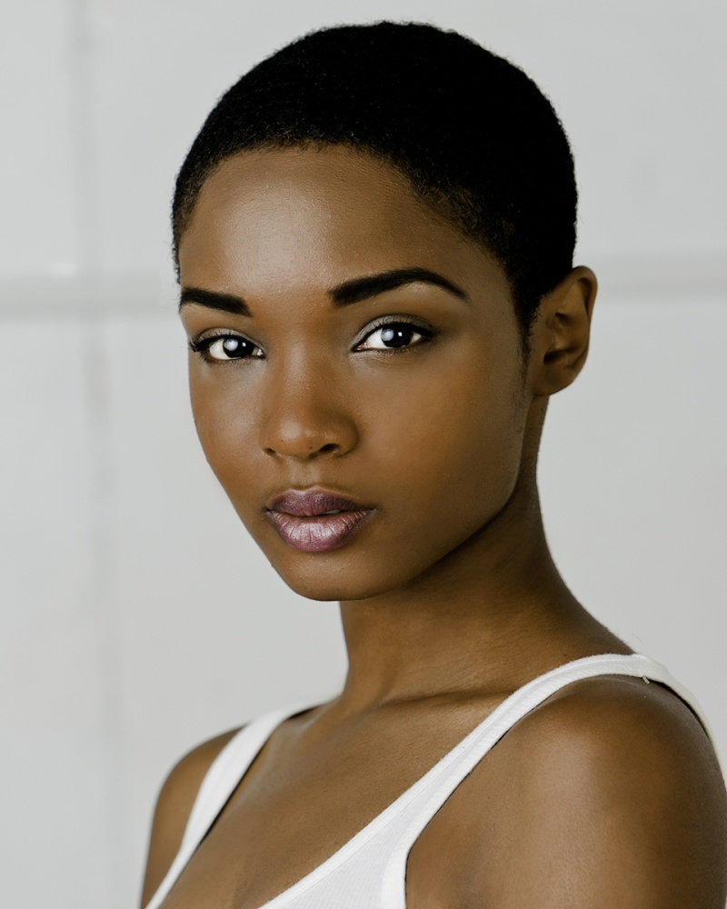 black hairstyles for natural short hair photo - 2