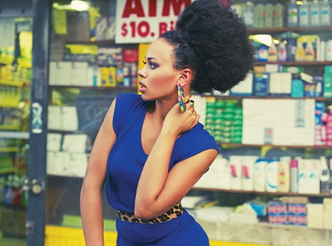 black hairstyles for natural short hair photo - 8