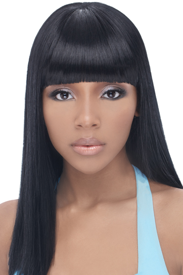black hairstyles with chinese bangs photo - 3