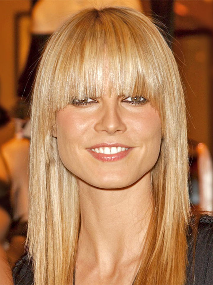 blonde hairstyles with bangs photo - 6