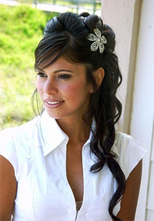 bridal hairstyles for thin hair photo - 1