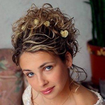 bridal hairstyles for thin hair photo - 10