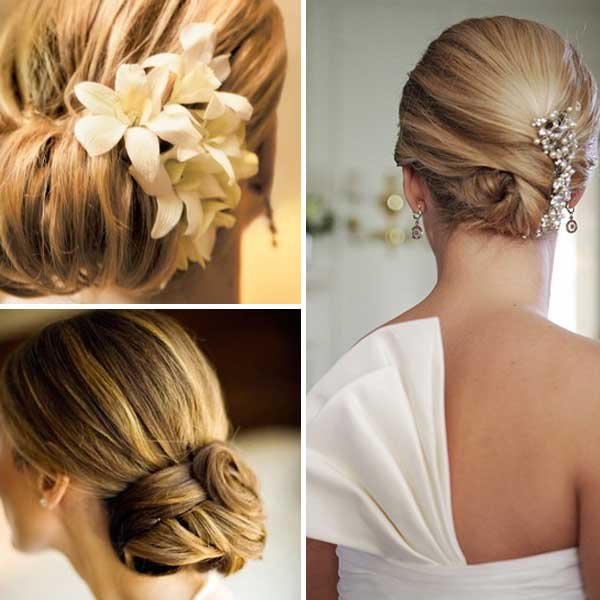 bridal hairstyles for thin hair photo - 4