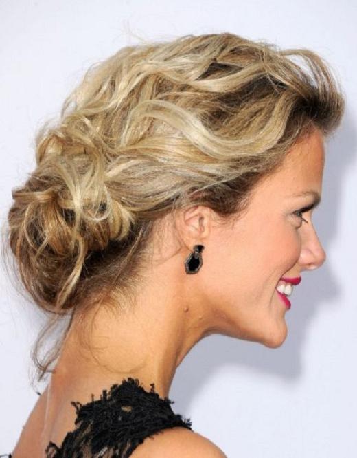 bridal hairstyles for thin hair photo - 6