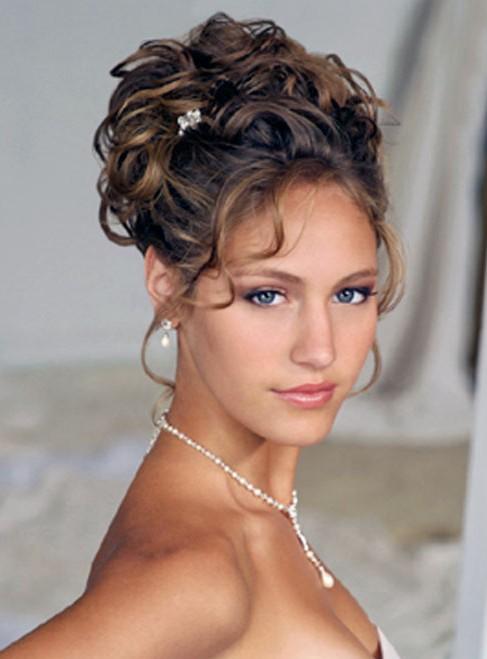 bridal hairstyles for thin hair photo - 8