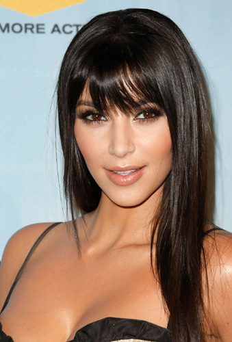 chin length hairstyles with bangs photo - 8