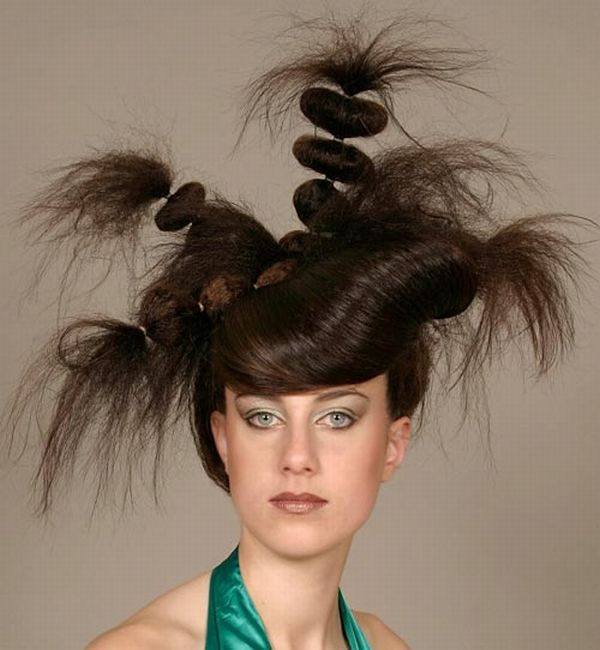 crazy hairstyles photo - 1
