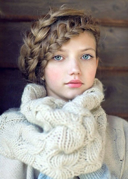 cute hairstyles for school photo - 8