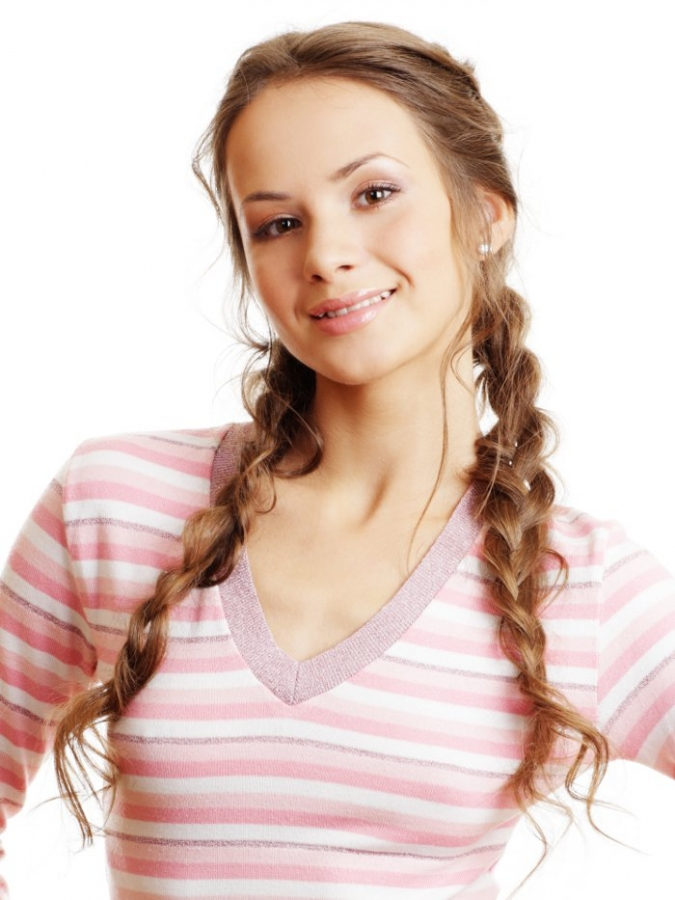 cute hairstyles for school photo - 9