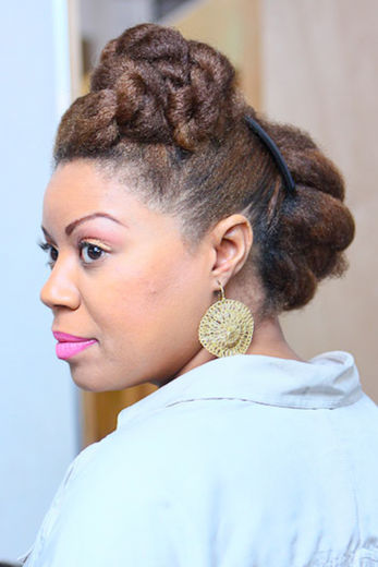 cute natural hairstyles for short hair photo - 1