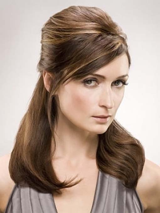 easy hairstyles for long hair photo - 9