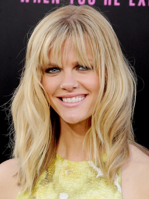 easy hairstyles with bangs photo - 2
