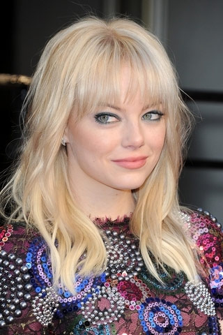 emma stone hairstyles with bangs photo - 5