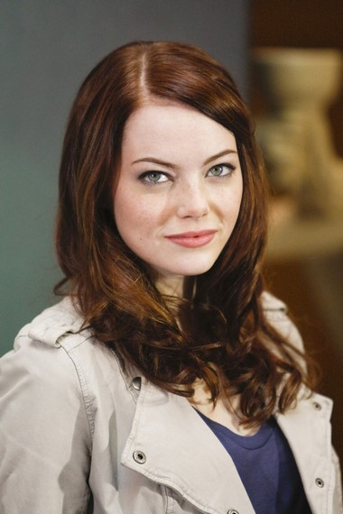 emma stone hairstyles with bangs photo - 9