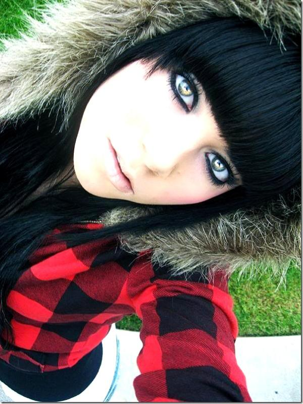 emo hairstyles for girls photo - 14