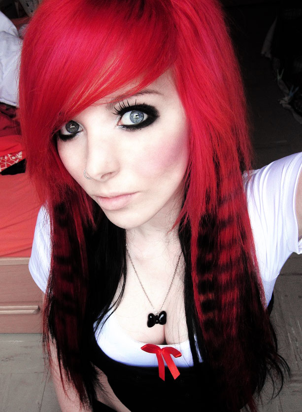 emo hairstyles for girls photo - 4