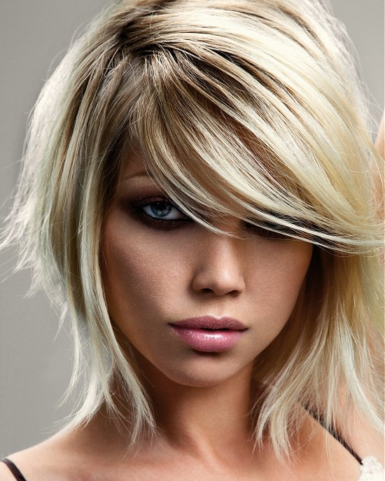 flattering hairstyles for thin hair photo - 4