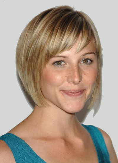 flattering hairstyles for thin hair photo - 9