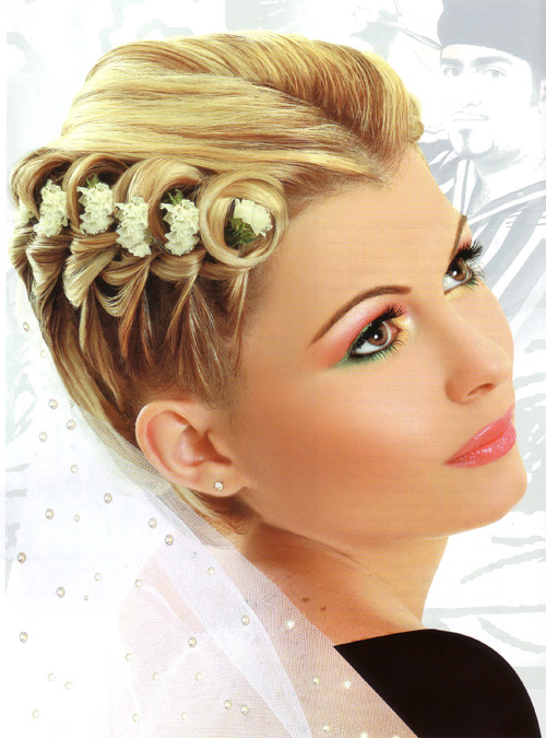 hairstyles for bridesmaids photo - 14