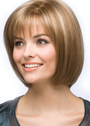 hairstyles for medium length thin hair photo - 2