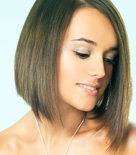 hairstyles for medium length thin hair photo - 9
