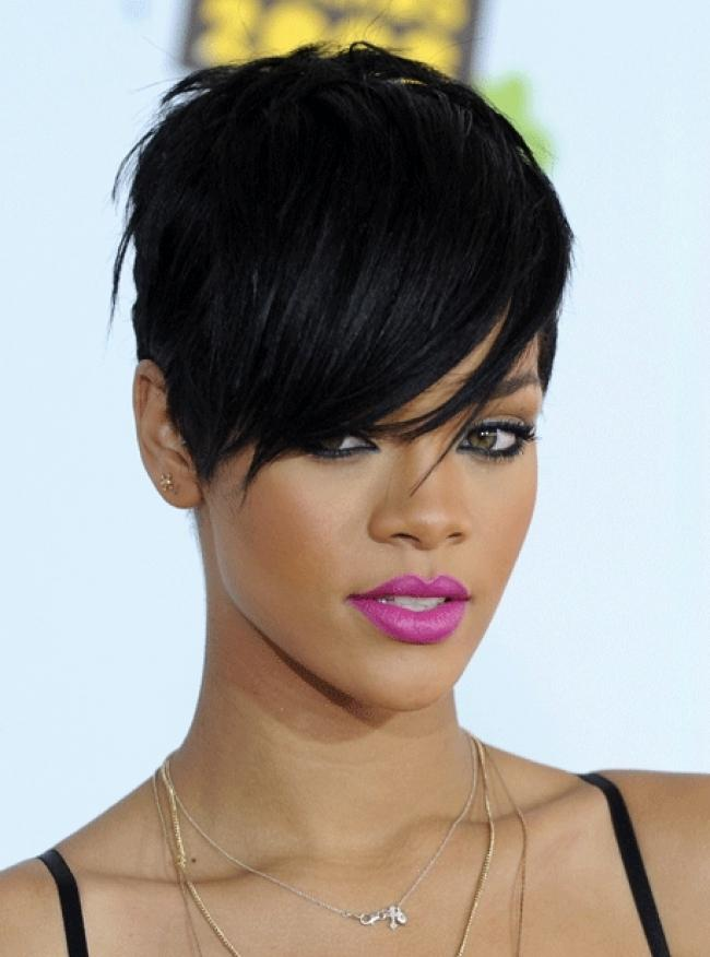 hairstyles for oval faces with bangs photo - 2