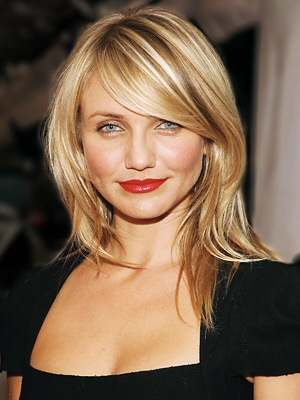 hairstyles for oval faces with bangs photo - 8