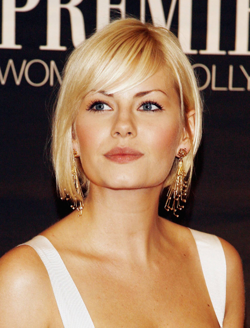 hairstyles for shoulder length hair with bangs photo - 1