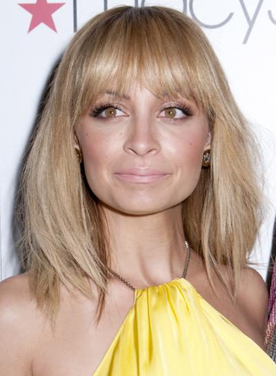 hairstyles for shoulder length hair with bangs photo - 6