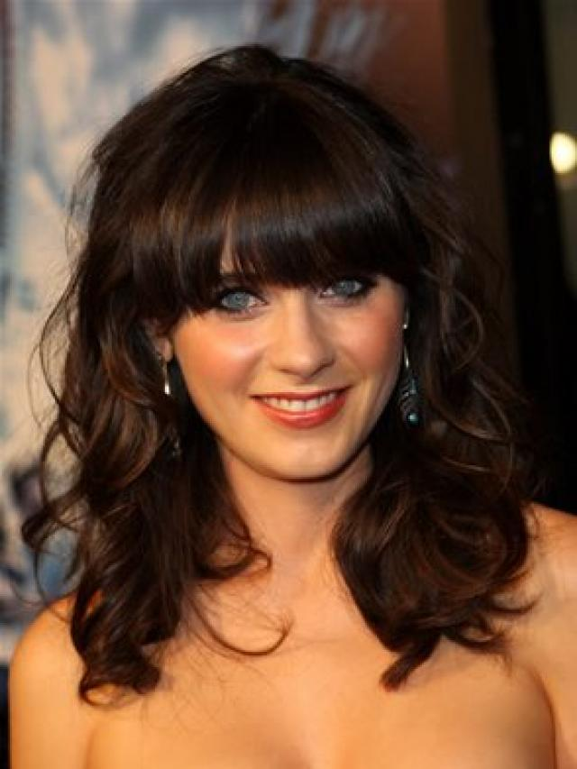 hairstyles for shoulder length hair with bangs photo - 8
