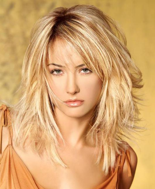 hairstyles for shoulder length thin hair photo - 10