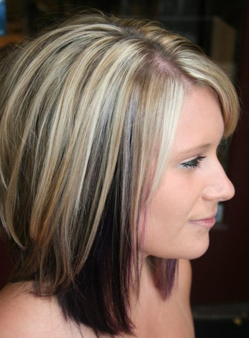 hairstyles for shoulder length thin hair photo - 4