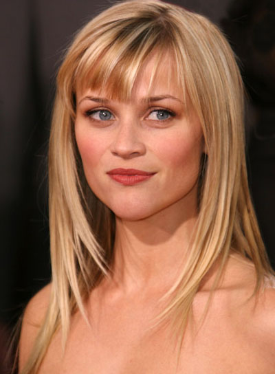hairstyles for square faces with bangs photo - 2