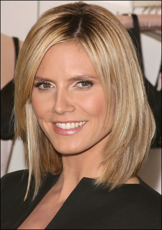hairstyles for square faces with bangs photo - 3