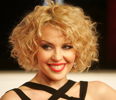 hairstyles for thin curly hair photo - 1