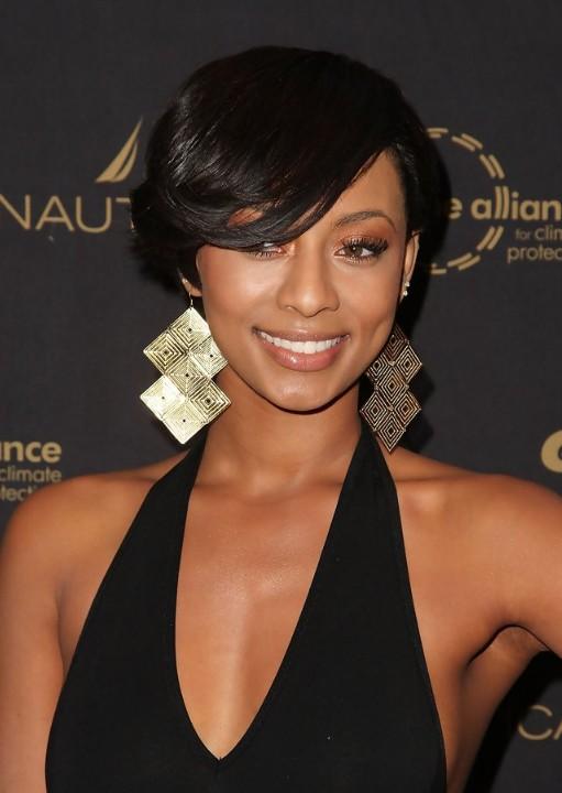Astonishing 11 Curly Locks And Her Three Lucky Styles Short Hairstyles For Short Hairstyles For Black Women Fulllsitofus