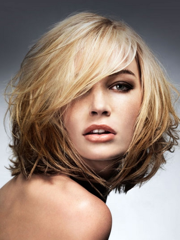hairstyles for thin hair to make it look thicker photo - 5