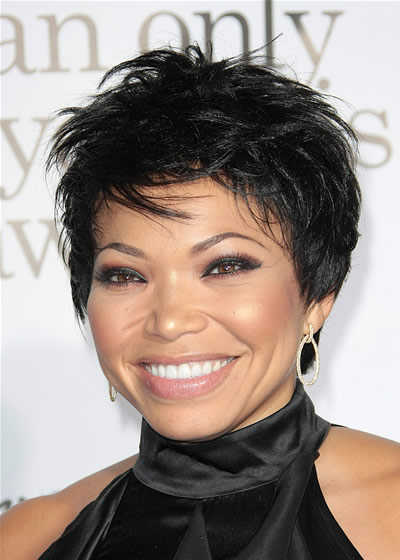 hairstyles with bangs for black women photo - 8