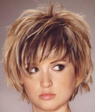 hairstyles with bangs for round faces photo - 4