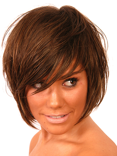 hairstyles with chinese bangs photo - 1
