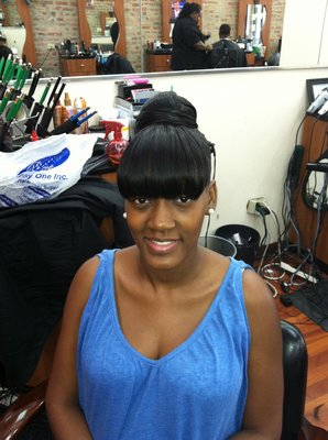 hairstyles with chinese bangs photo - 2