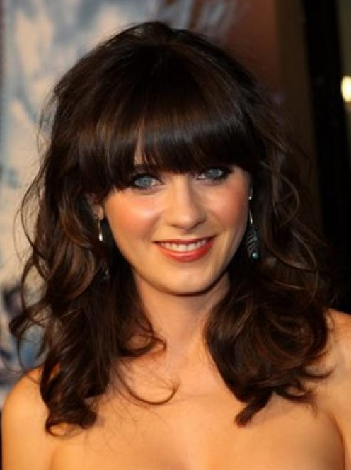 hairstyles with chinese bangs photo - 4