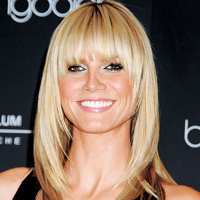 hairstyles with feathered bangs photo - 7
