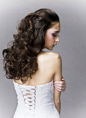 half up half down hairstyles photo - 10