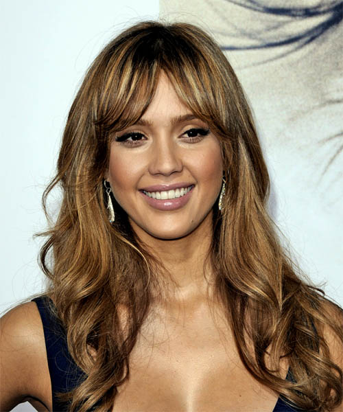 jessica alba hairstyles with bangs photo - 4