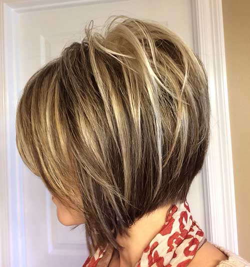 layered short haircuts photo - 8