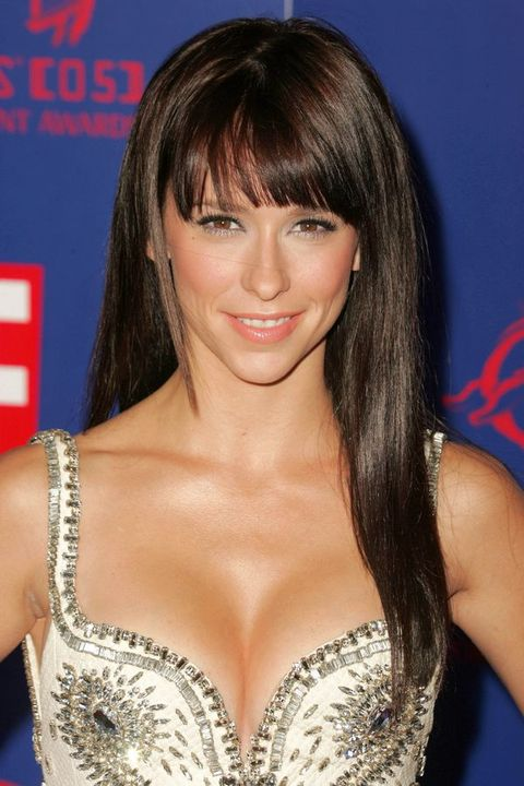 long hairstyles with bangs for round faces photo - 10